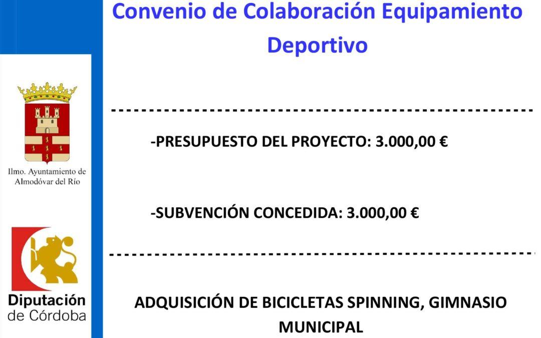 Adquisición de bicicletas spinning para gimnasio municipal 1