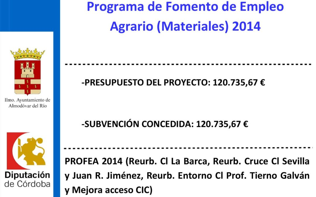 PROFEA 2014 1