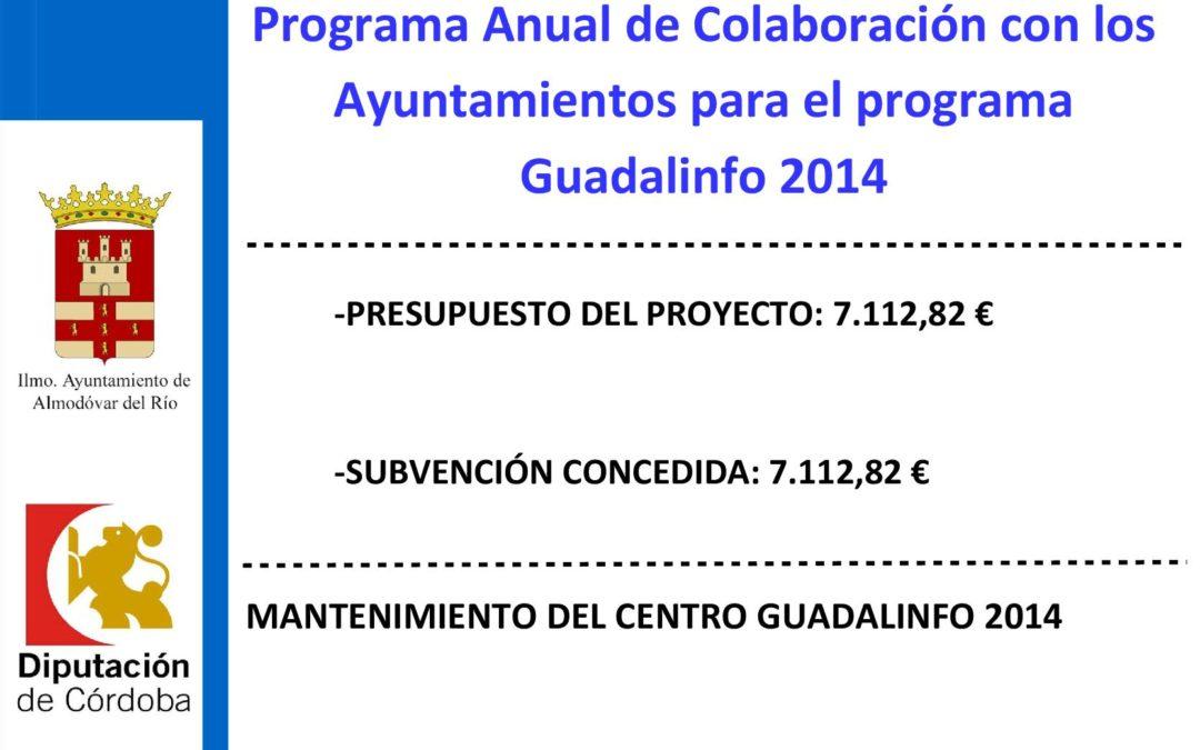 Mantenimiento del Centro Guadalinfo 2014 1