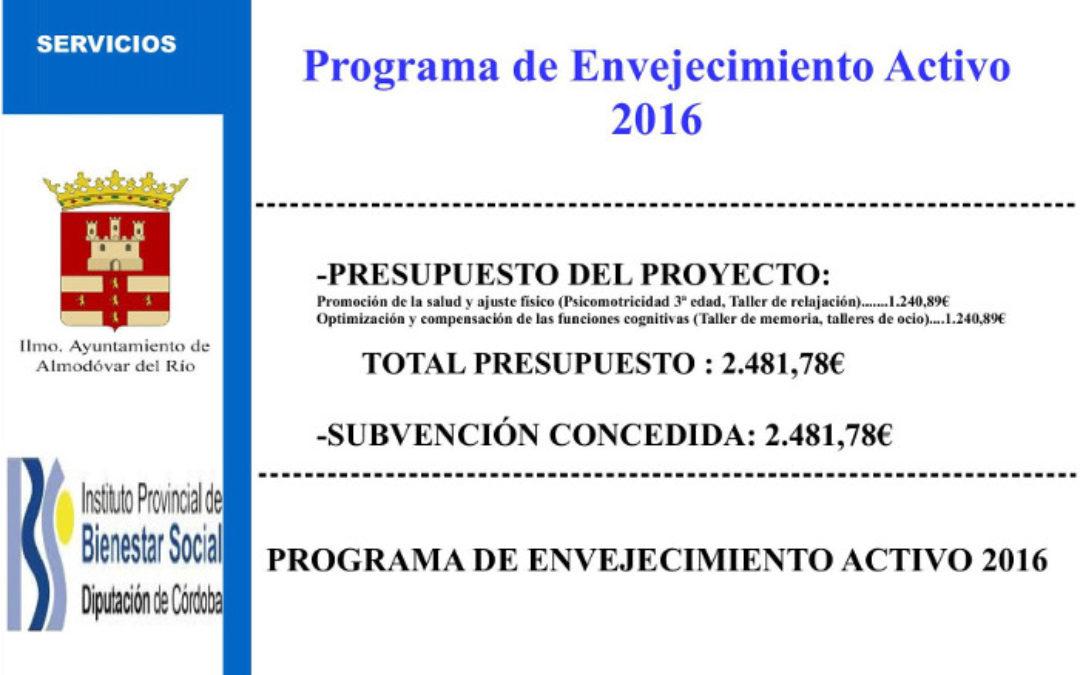 Programa de envejecimiento activo 2016 1