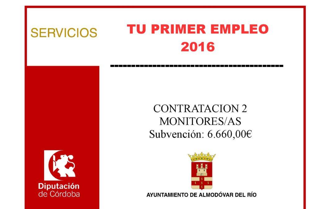 Tu primer empleo 2016 1
