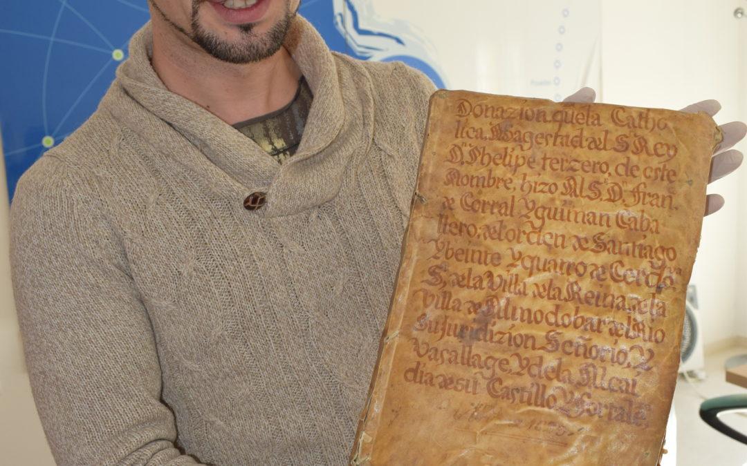 La digitalización del Archivo Histórico Municipal rescata un documento que data de 1573 2