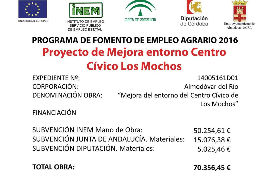 Mejora del entorno del Centro Cívico Los Mochos 1