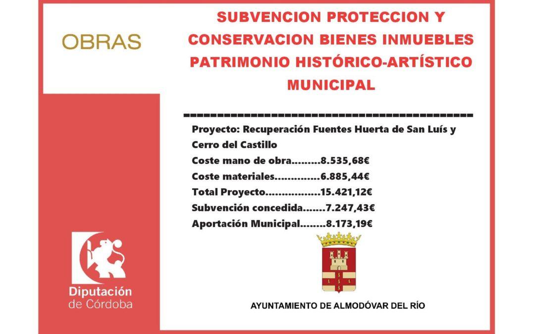 Recuperación Fuentes Huerta de San Luís y Cerro del Castillo 1