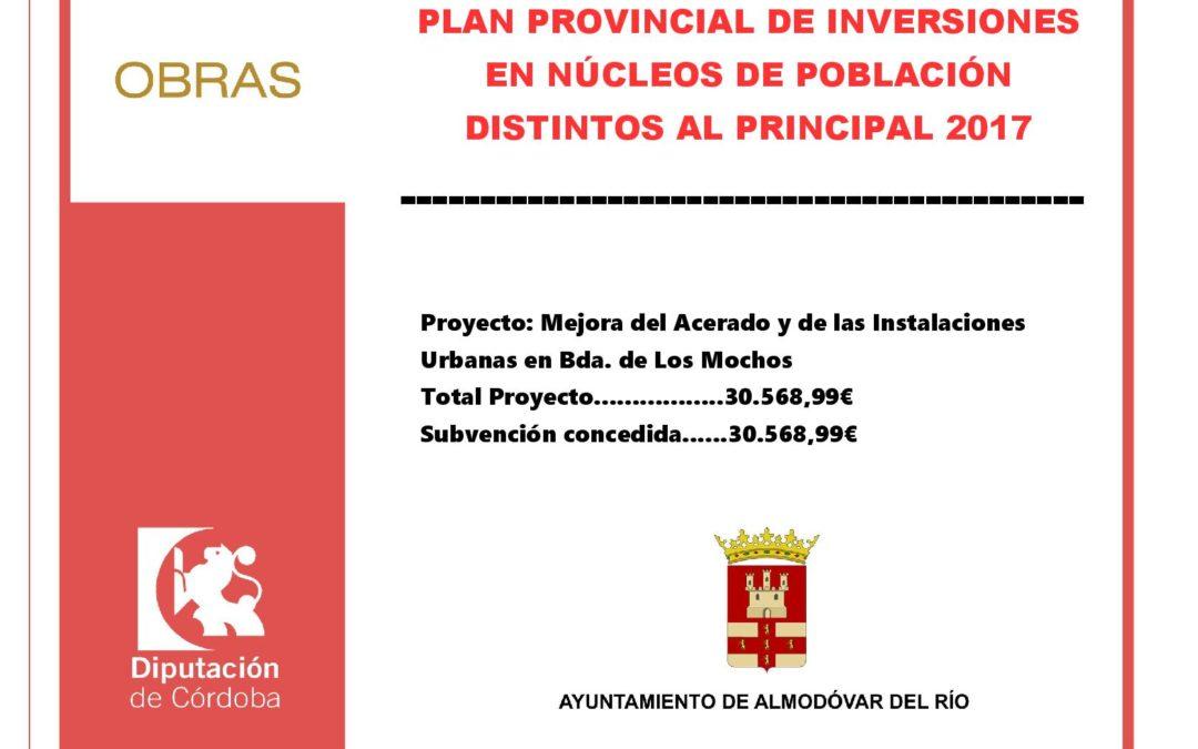 Plan provincial de inversiones en núcleos de publación distintos al principal 2017 1