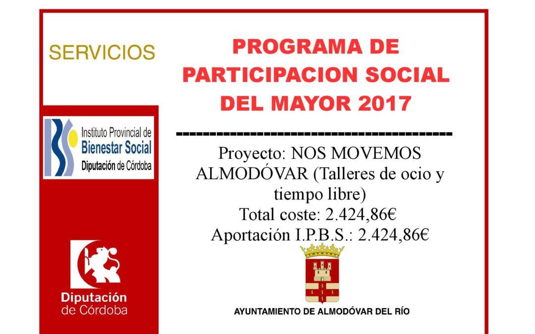 Programa de participación social del mayor 2017 1