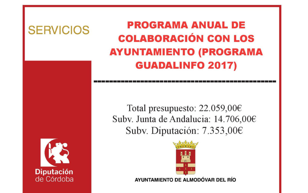 Programa Guadalinfo 2017 1