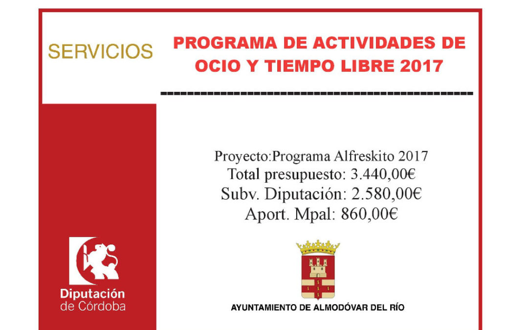 Programa Alfreskito 2017 1