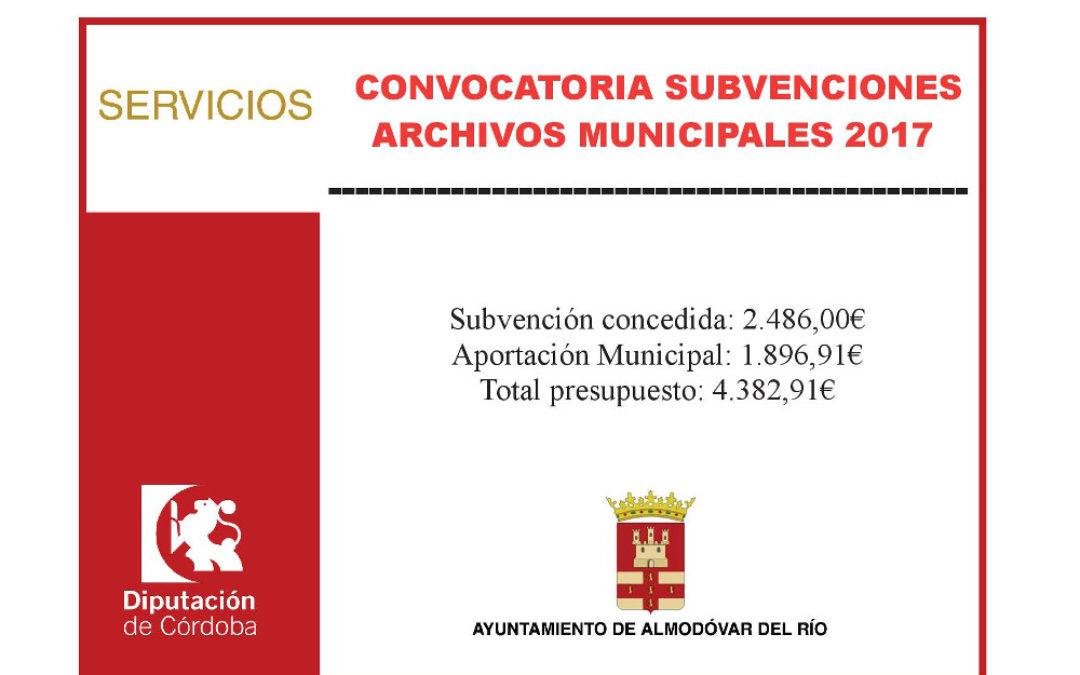 Archivos municipales 2017 1