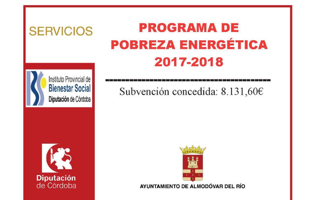 Programa de pobreza energética 2017-2018 1