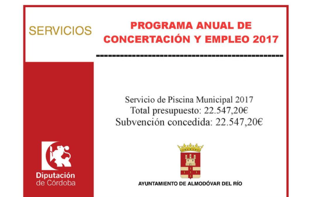 Servicio de Piscina Municipal 2017 1