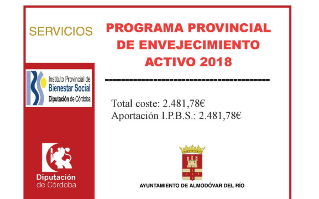 Programa provincial de envejecimiento activo 2018 1