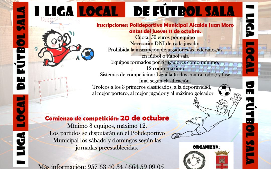 Comienza la I Liga Local de Fútbol Sala 1