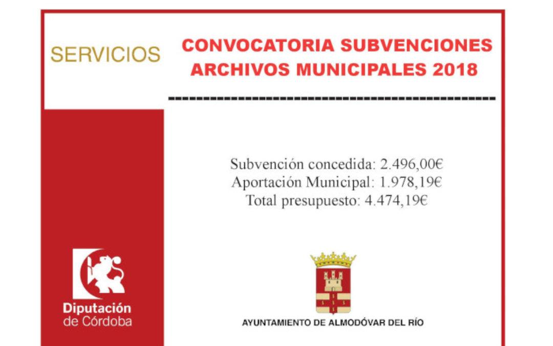 Archivos municipales 2018 1