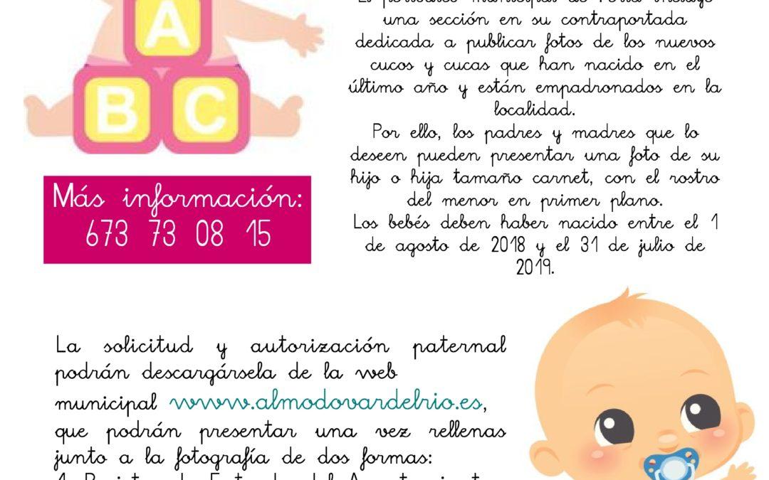 ¿Quieres que tu bebé salga en el periódico de Feria? 1