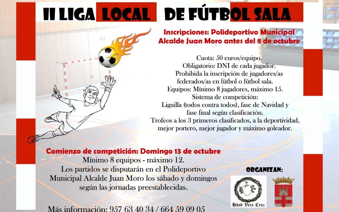 Bases de la II Liga Local de Fútbol Sala 1