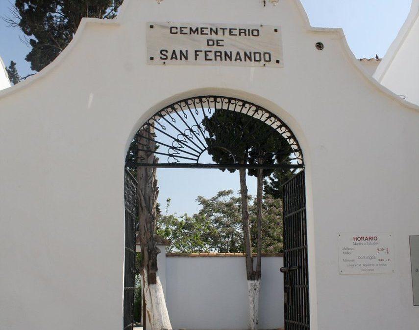 Bando que limita el uso del cementerio y sala de velas para prevenir el contagio del Covid-19