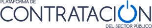 Logo plataforma contratación del estado