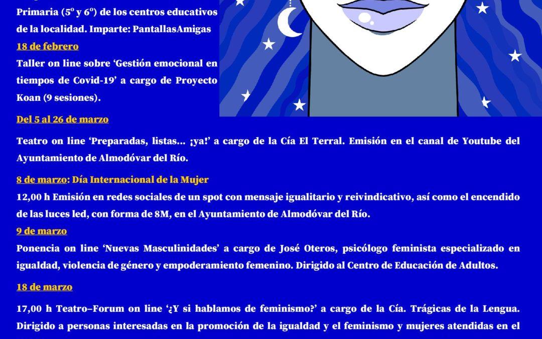 Programa XXV Jornadas de la Mujer